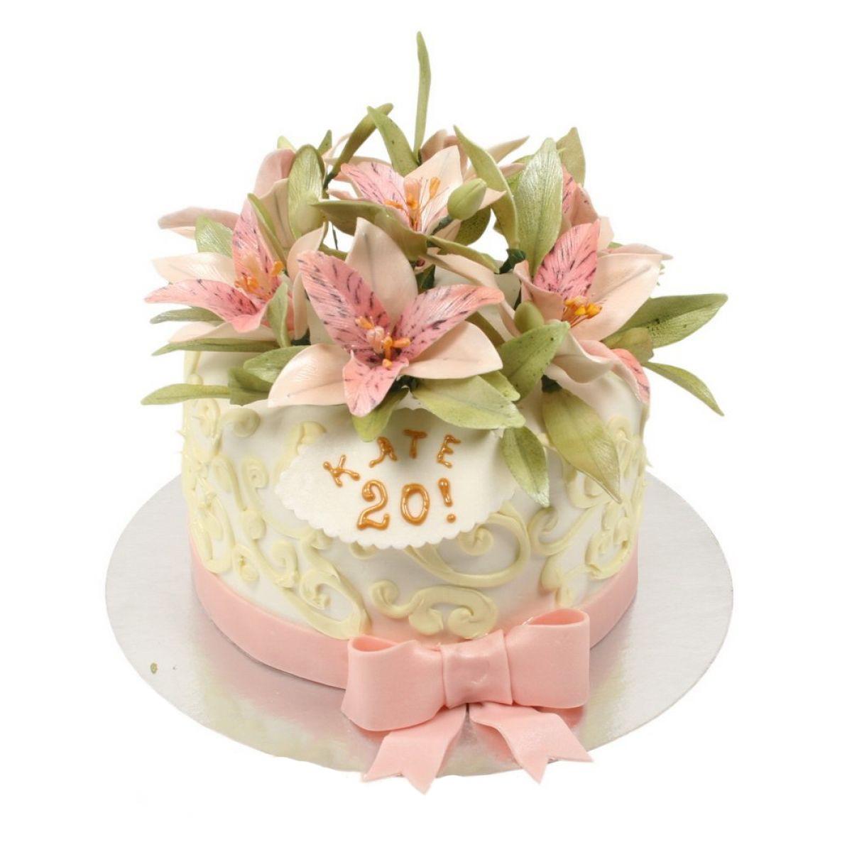 №289 Торт лилии
