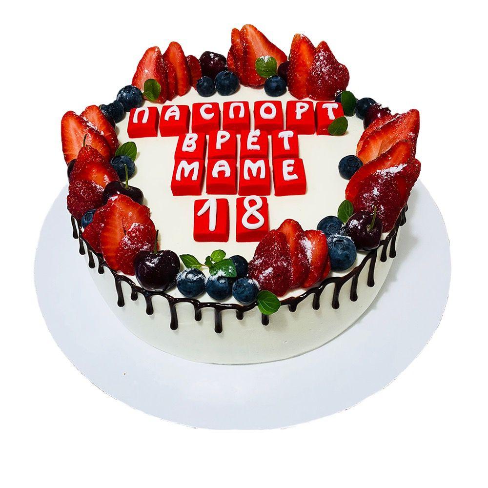 №29 Торт клубника
