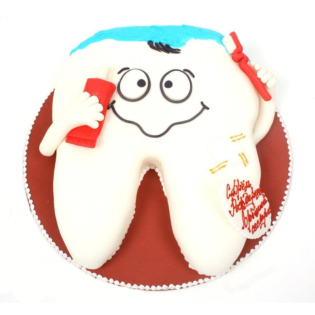 №313 Торт зуб