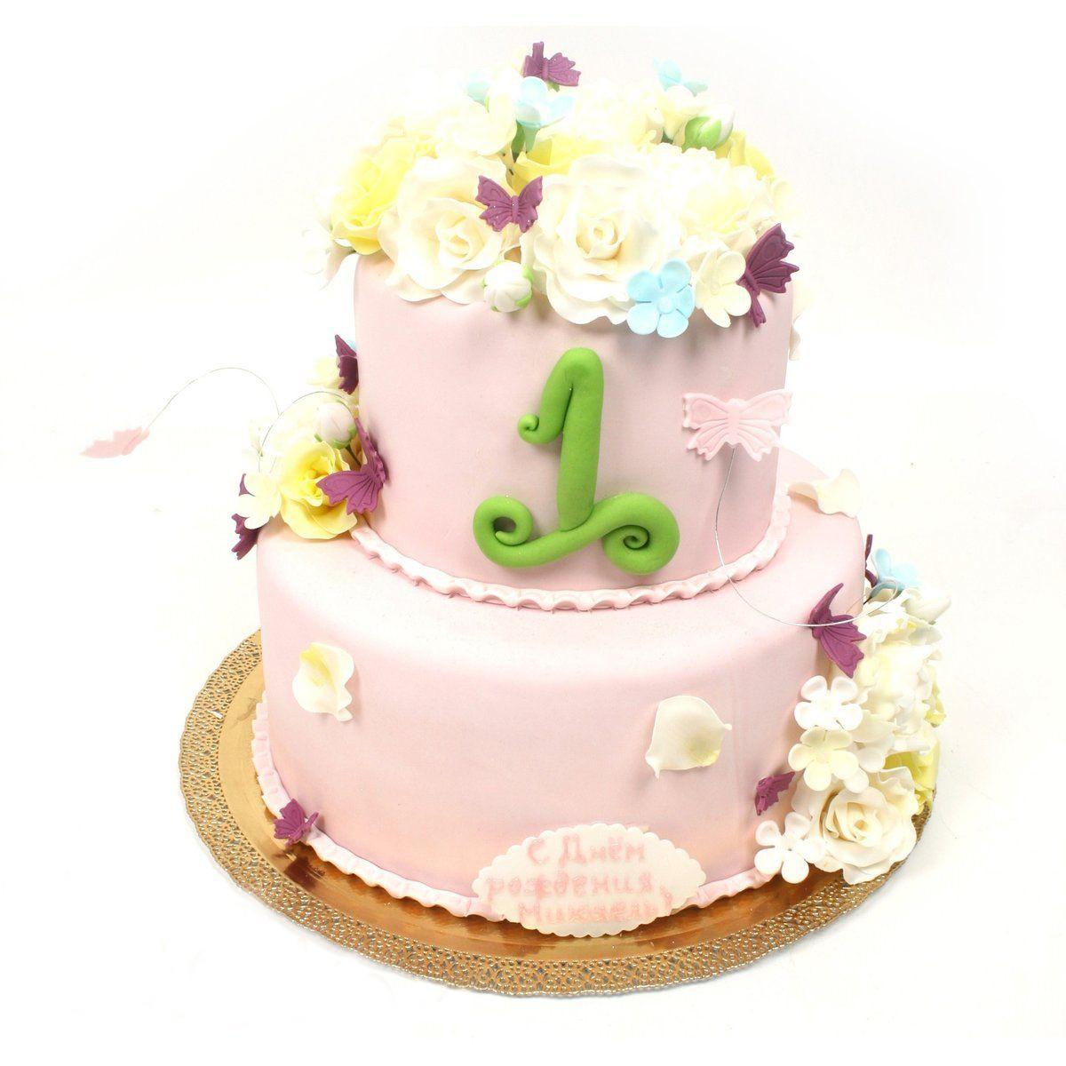 №316 Торт пионы
