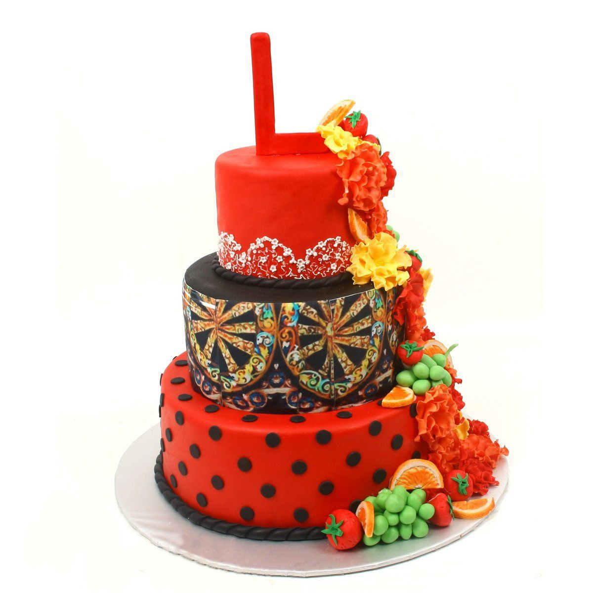 №320 Торт фрукты