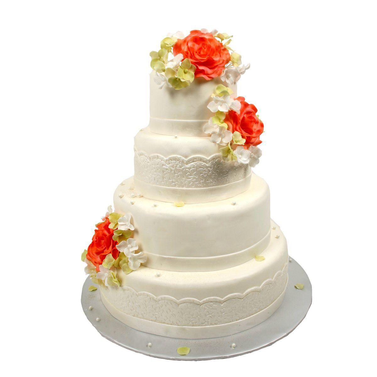 №329 Торт цветы