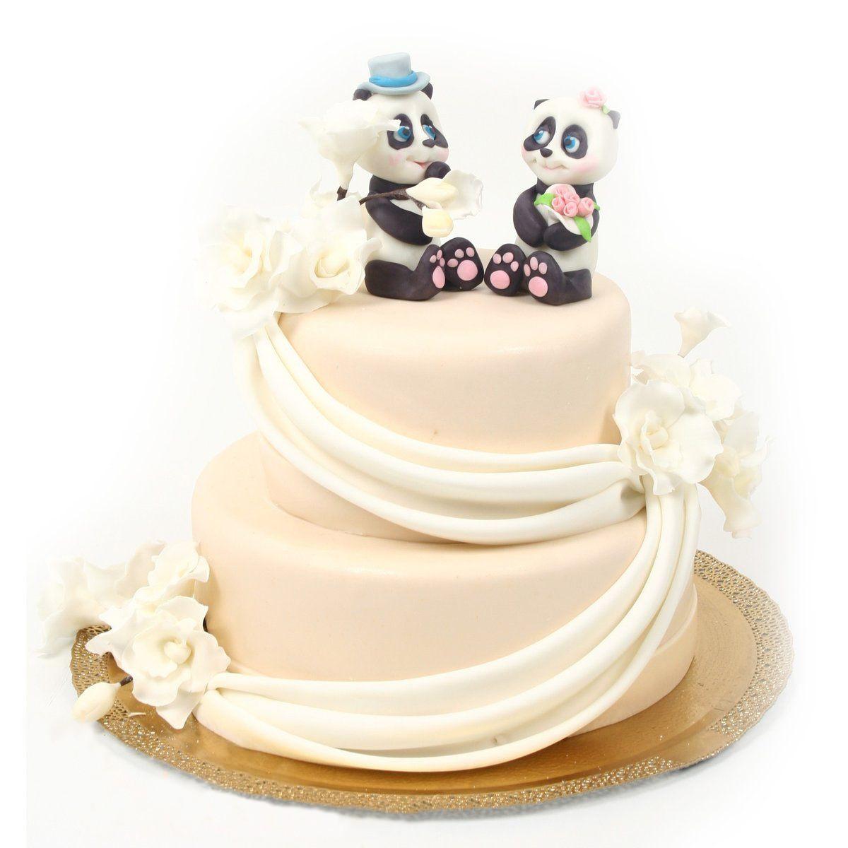 №344 Торт панды