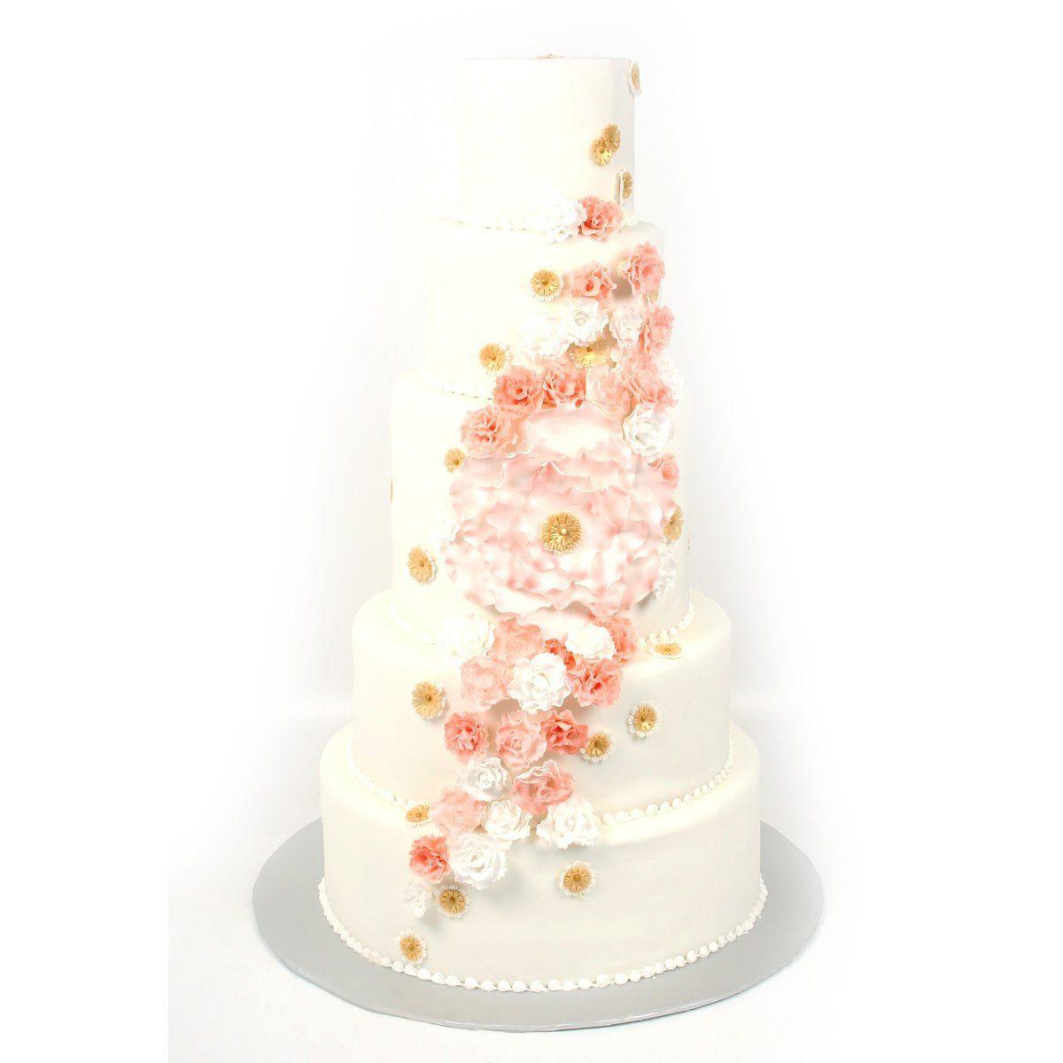 №351 Торт цветы