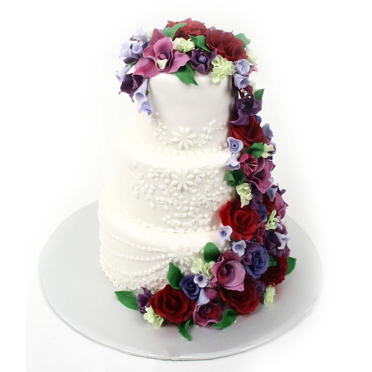 №358 Торт цветы