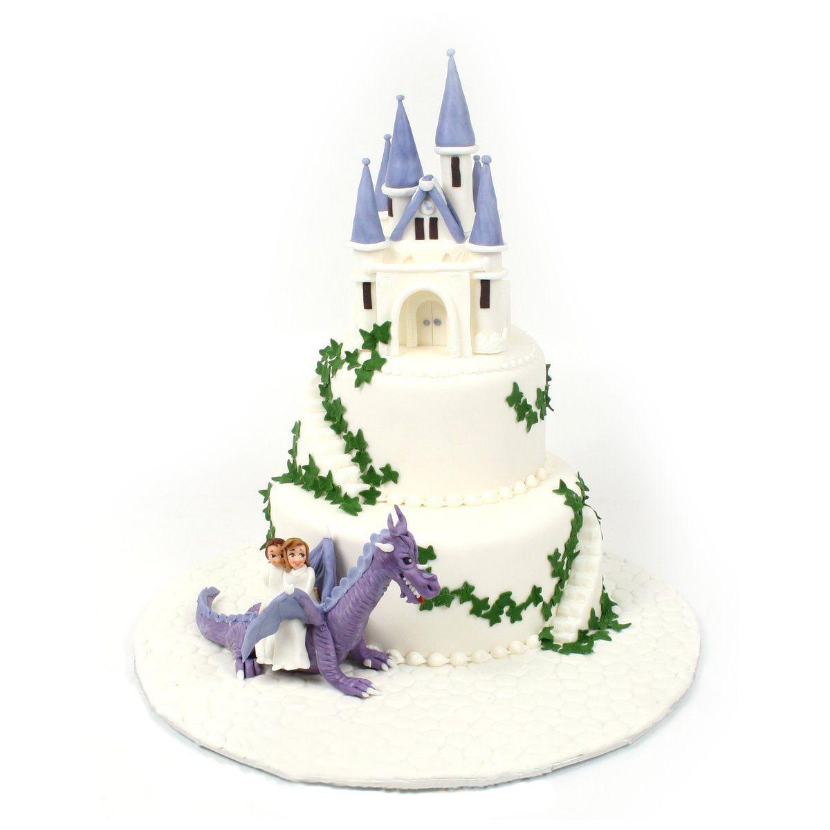 №362 Торт замок