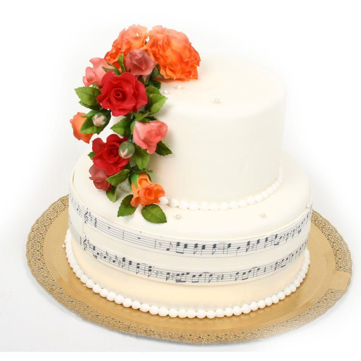 №370 Торт розы