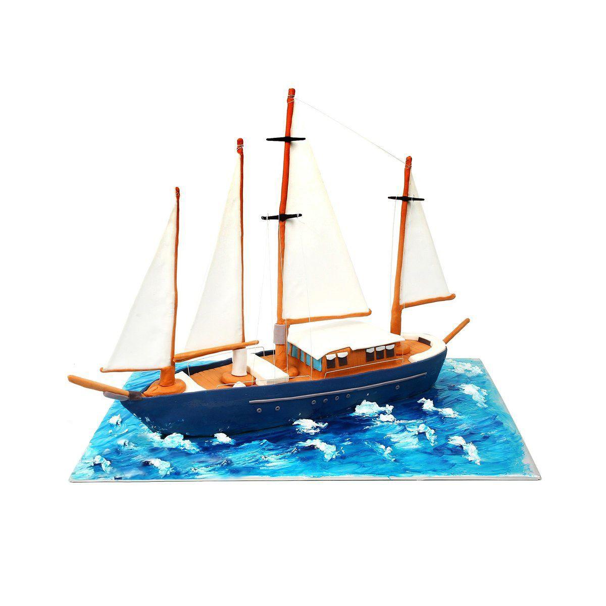 №371 Торт корабль