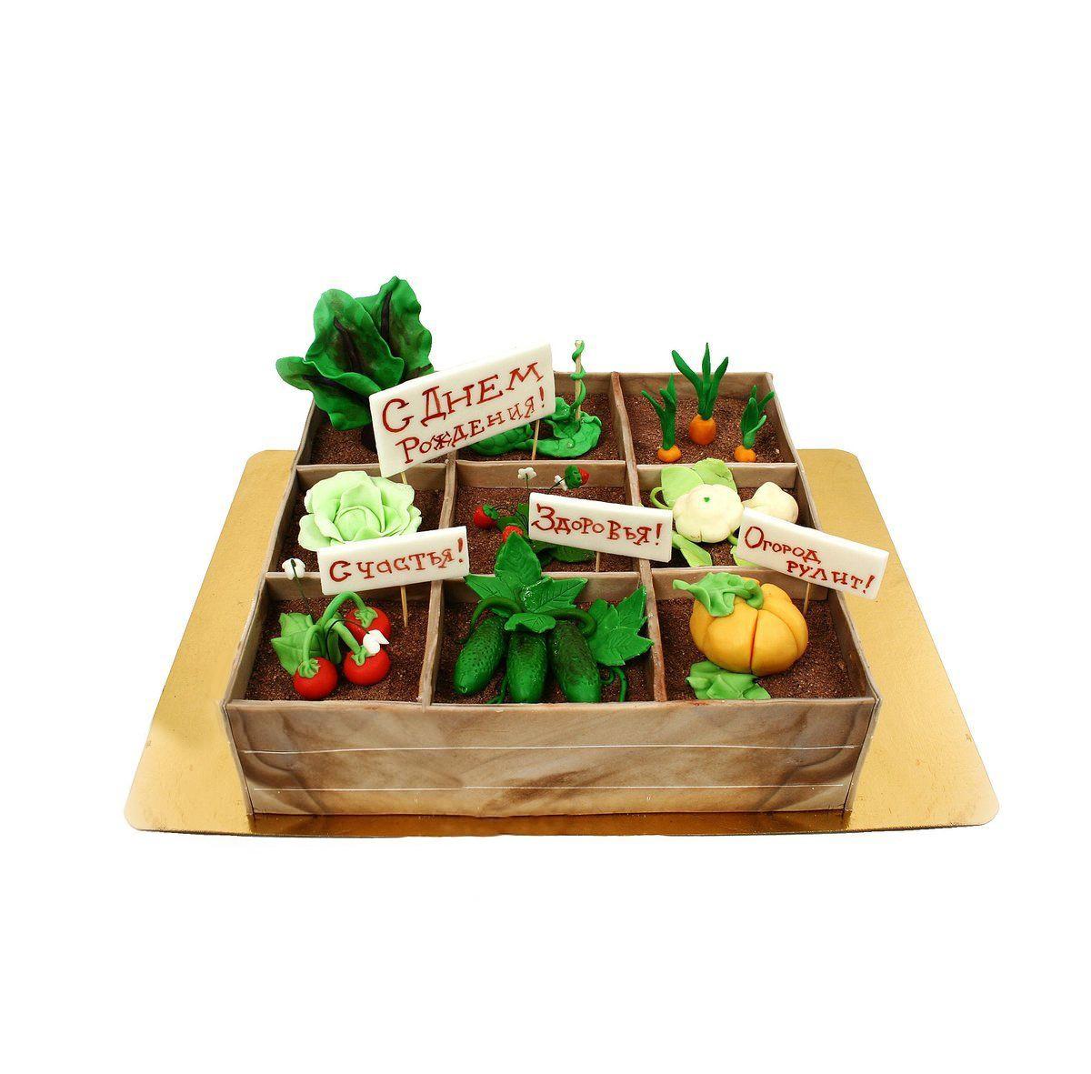 №381 Торт овощи