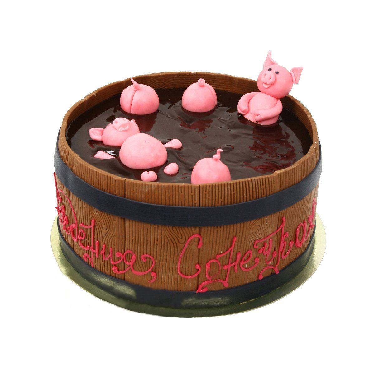 №386 Торт свинья
