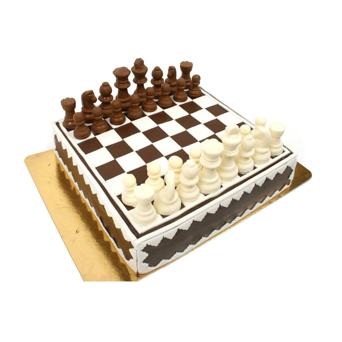 №406 Торт шахматы