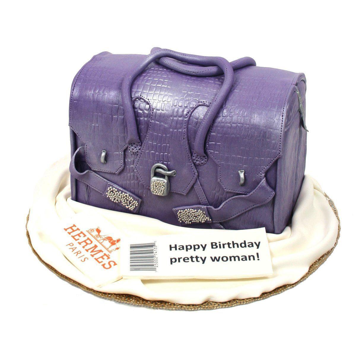 №414 Торт сумка