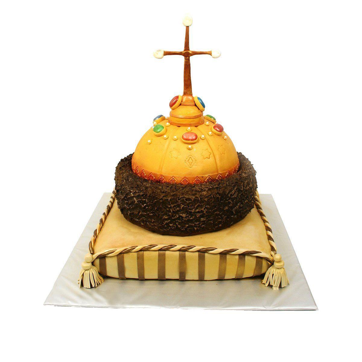 №458 Торт шапка Мономаха