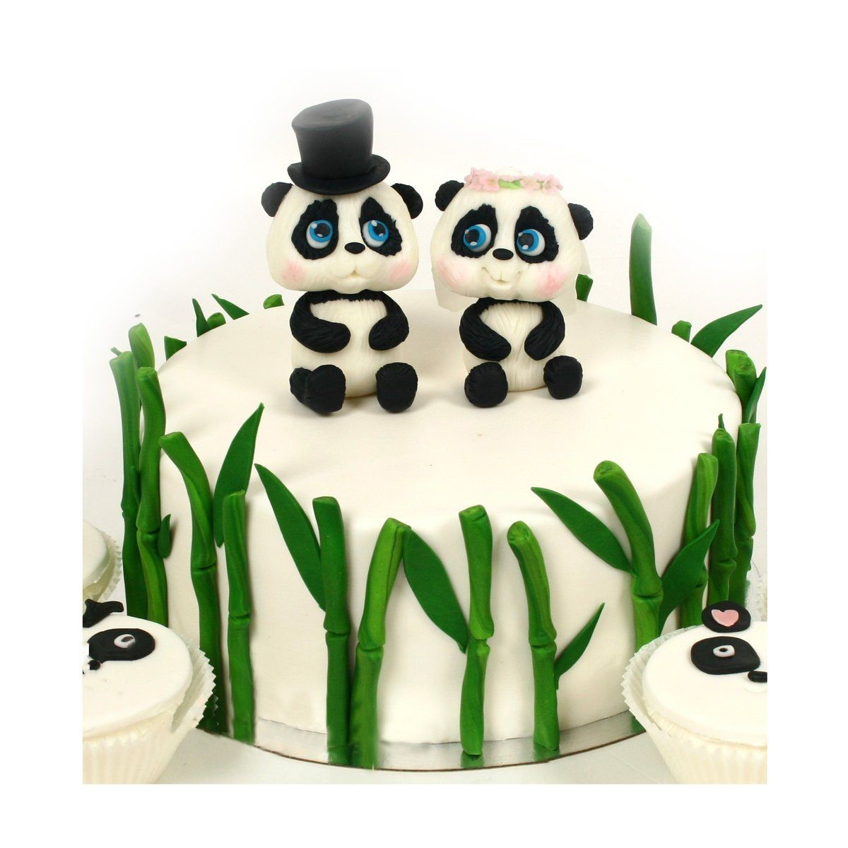 №499 Торт панды