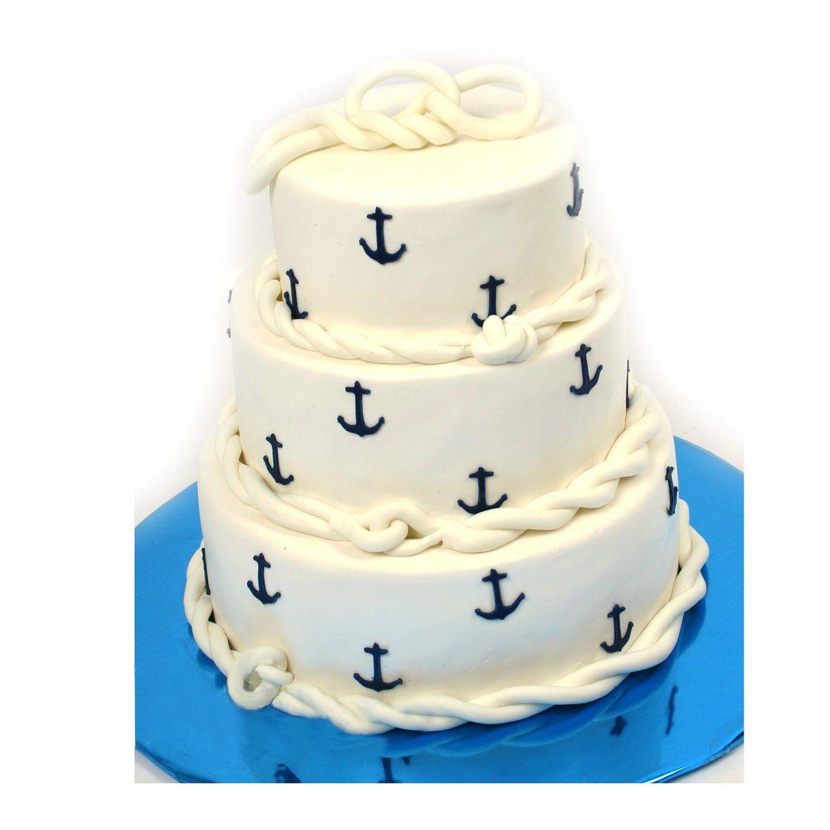 №501 Торт якорь