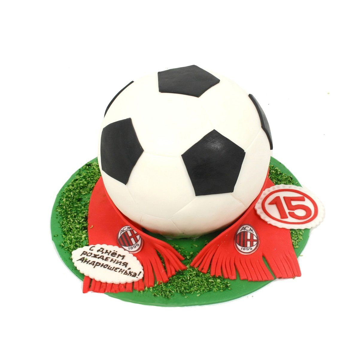 №563 Торт футбол