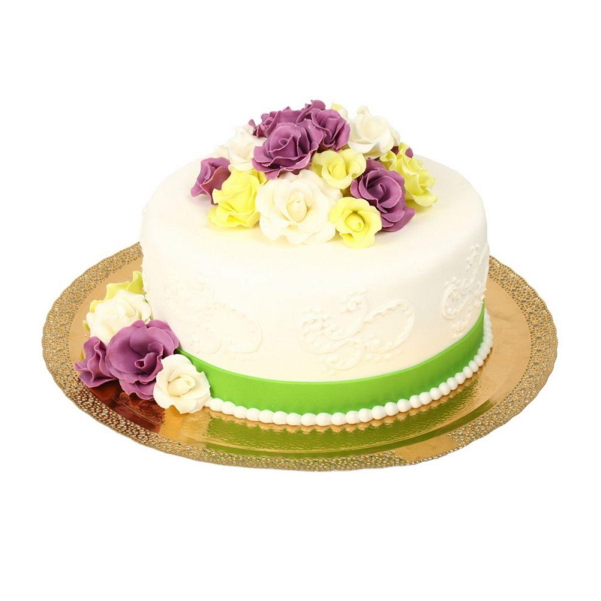№591 Торт пионы