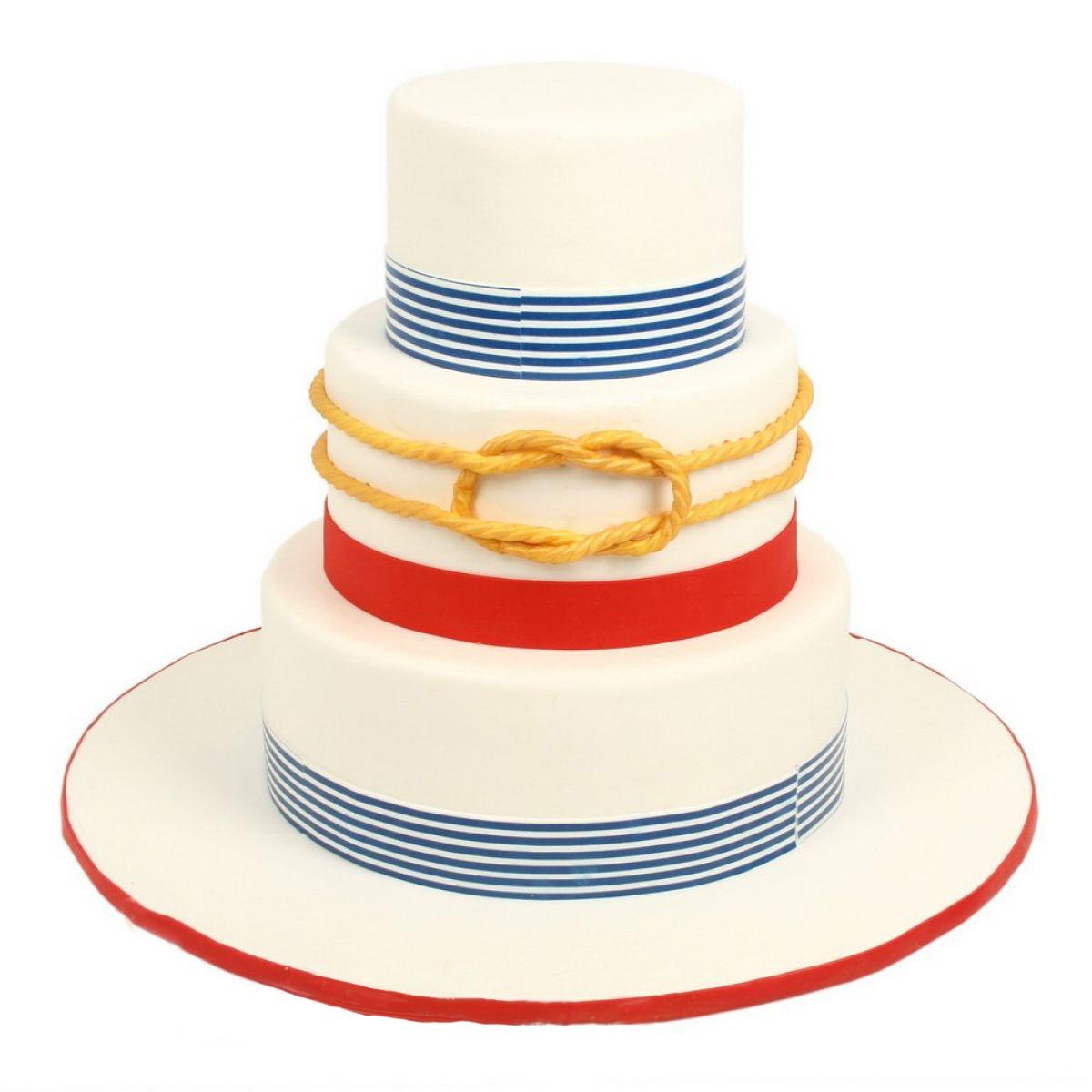 №592 Торт якорь