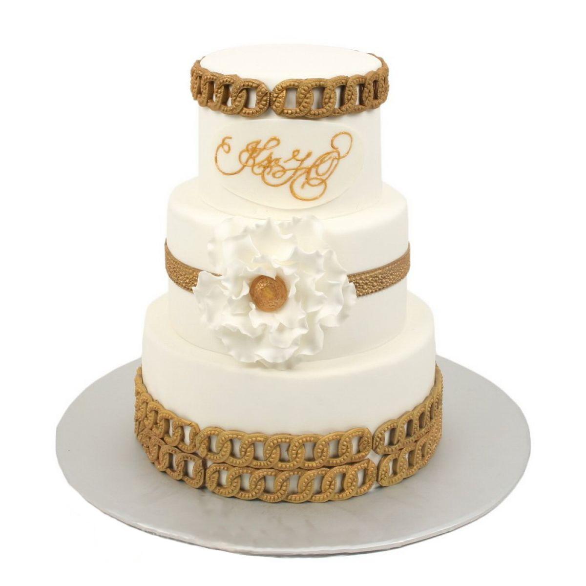 №599 Торт кружево