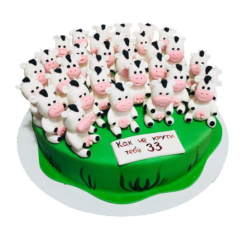 №60 Торт коровы