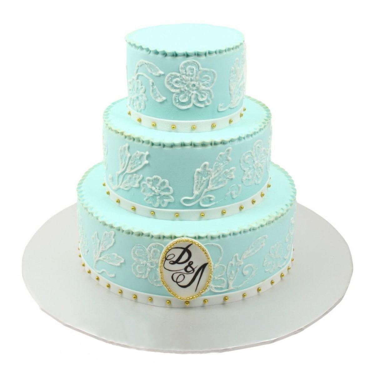 №601 Торт кружево