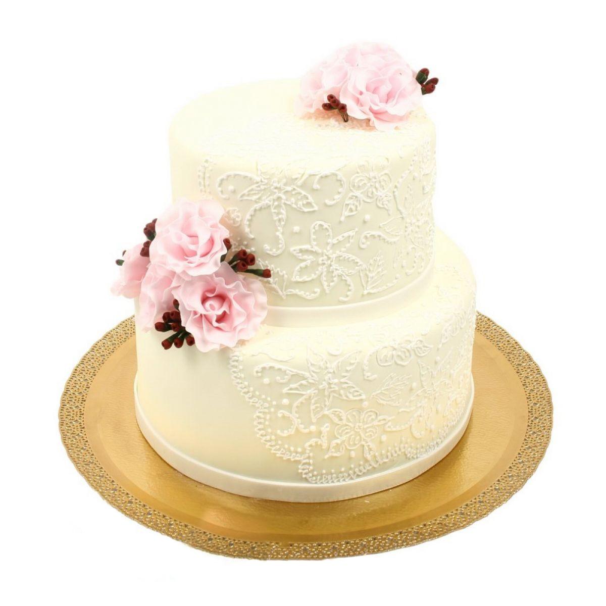 №609 Торт пионы