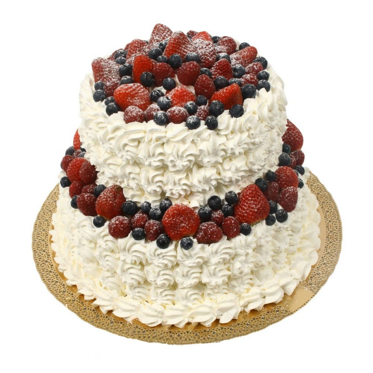 №622 Торт ягоды