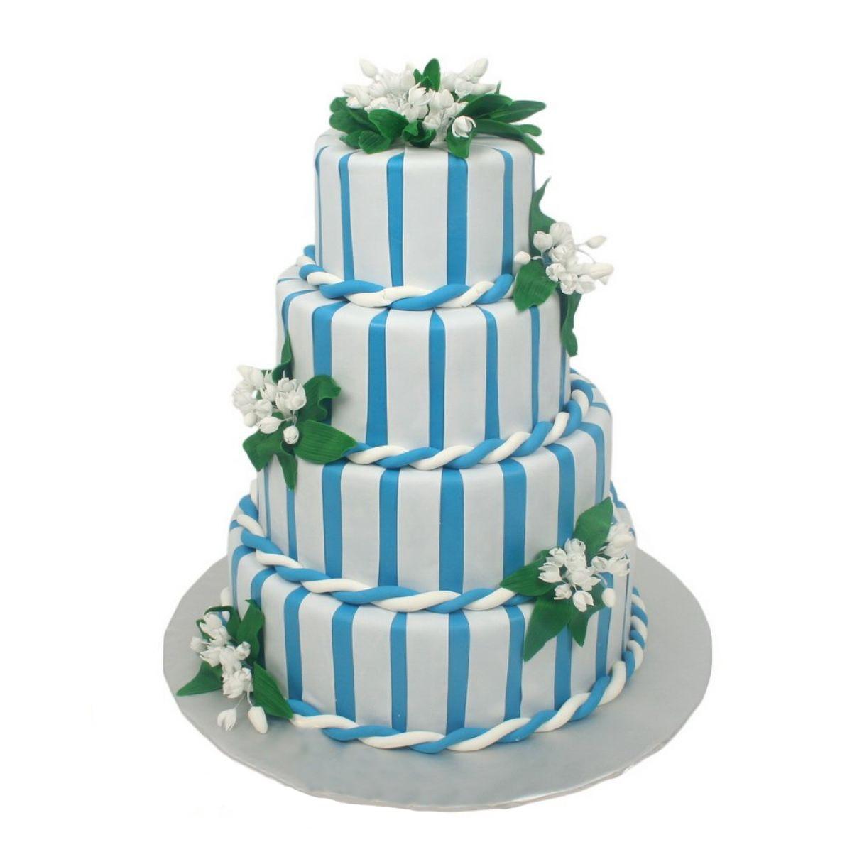 №623 Торт цветы