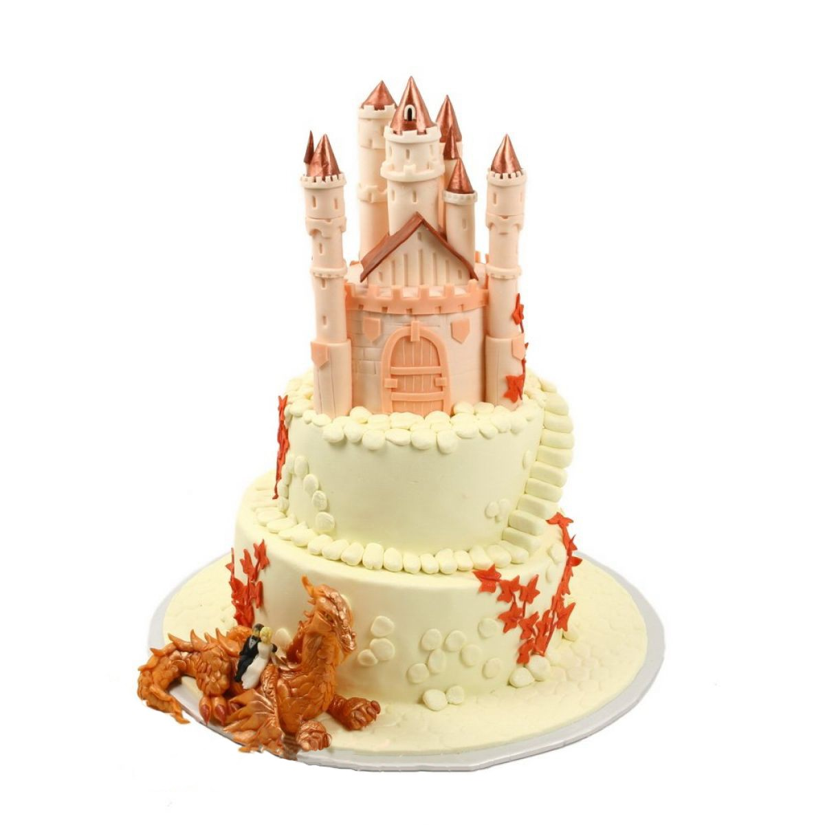 №638 Торт замок