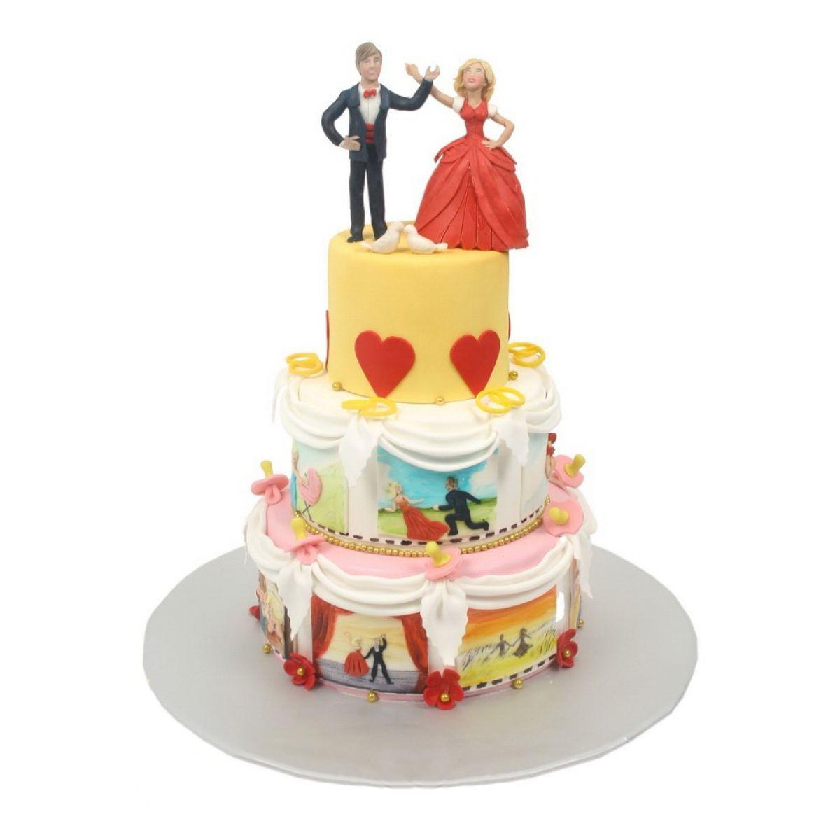 №654 Торт влюбленные