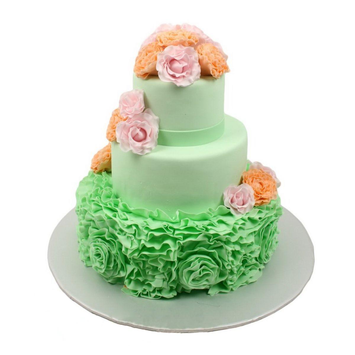 №665 Торт розы