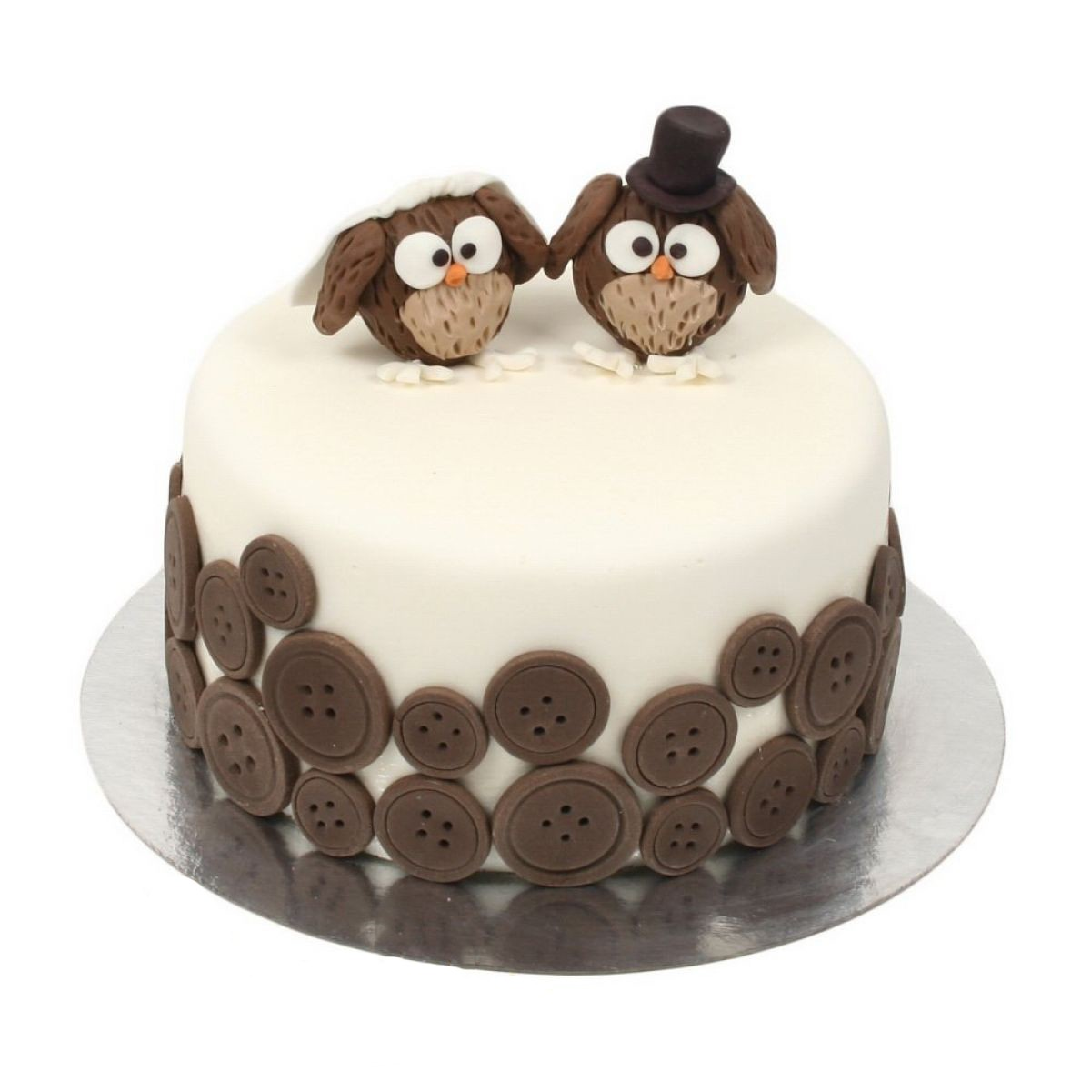 №677 Торт пингвины