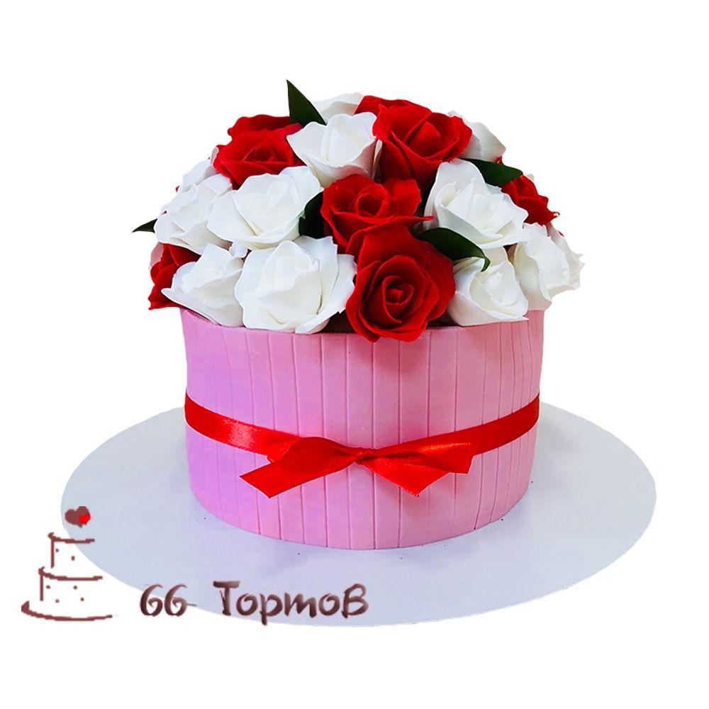 №68 Торт роза