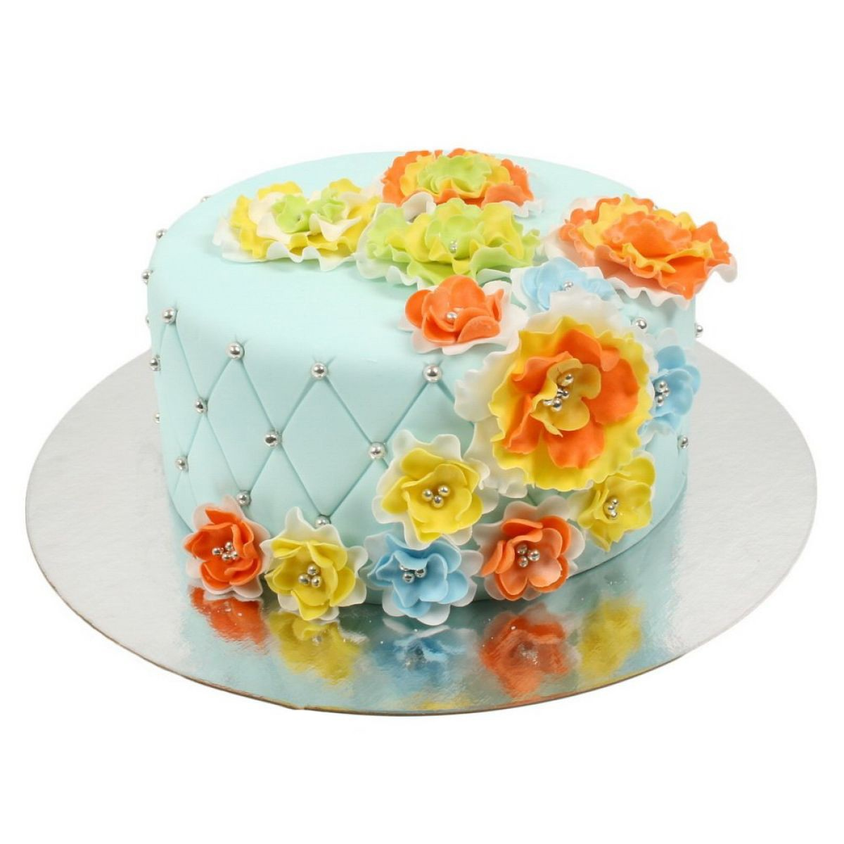 №680 Торт цветы