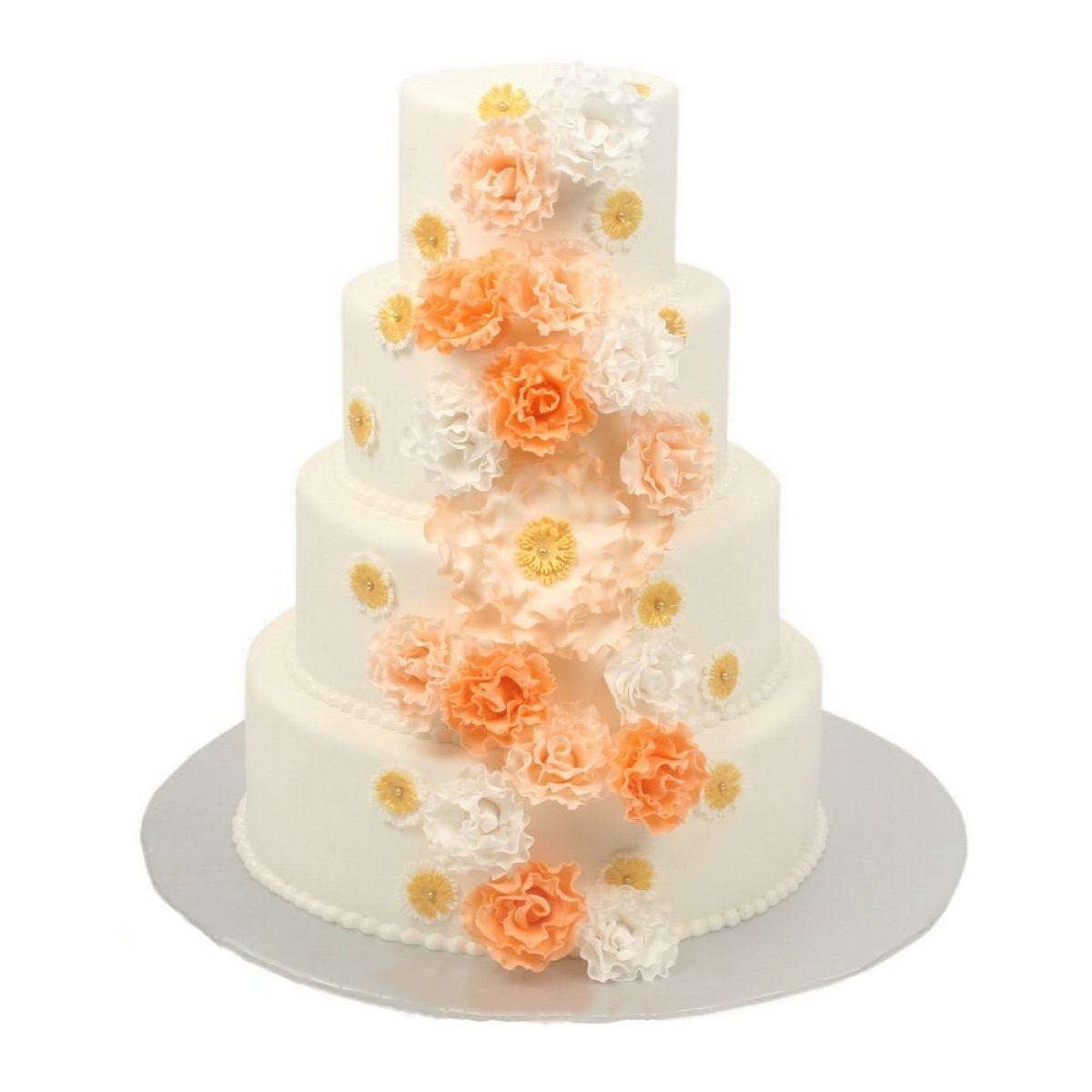 №687 Торт цветы