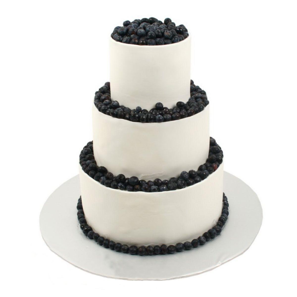 №691 Торт кружево