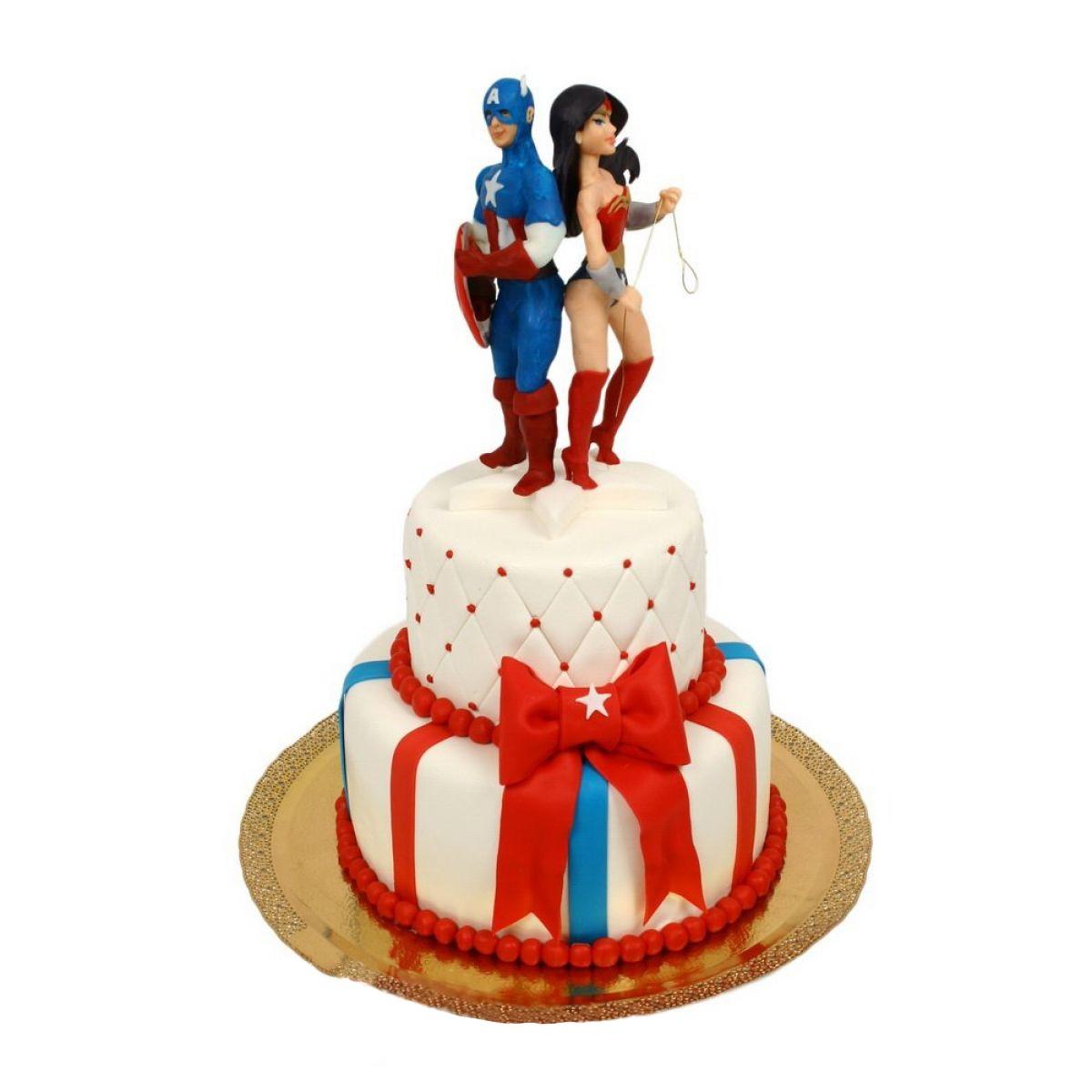 №694 Торт влюбленные