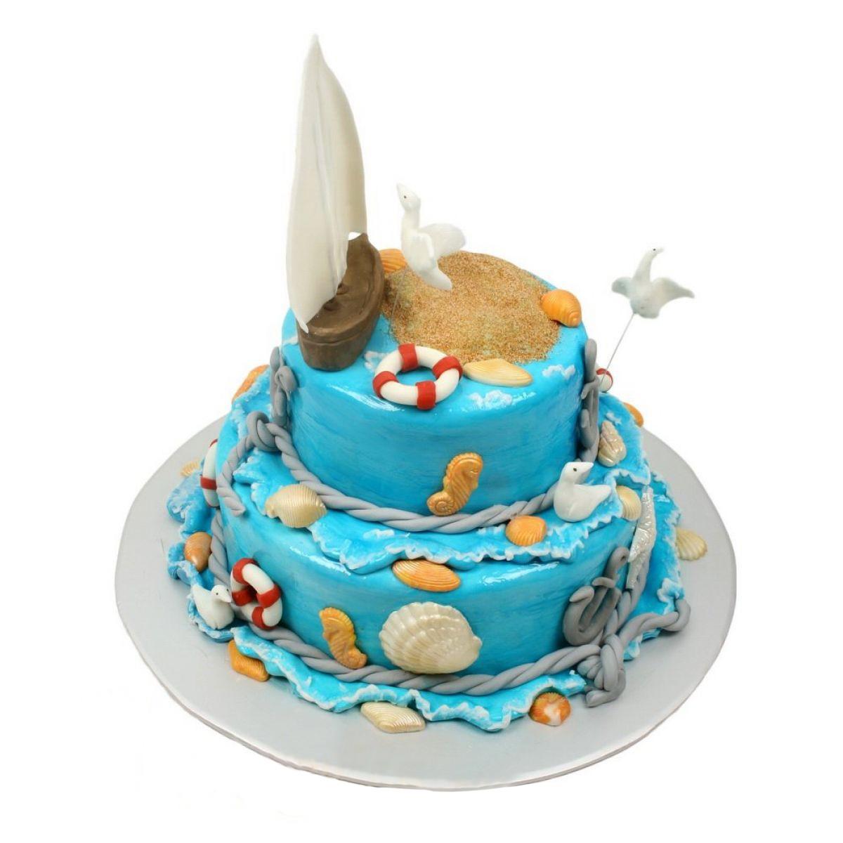 №699 Торт якорь