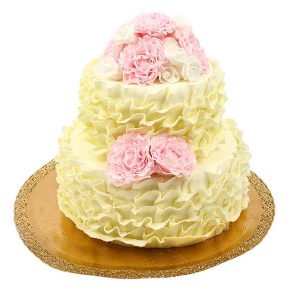 №700 Торт пионы