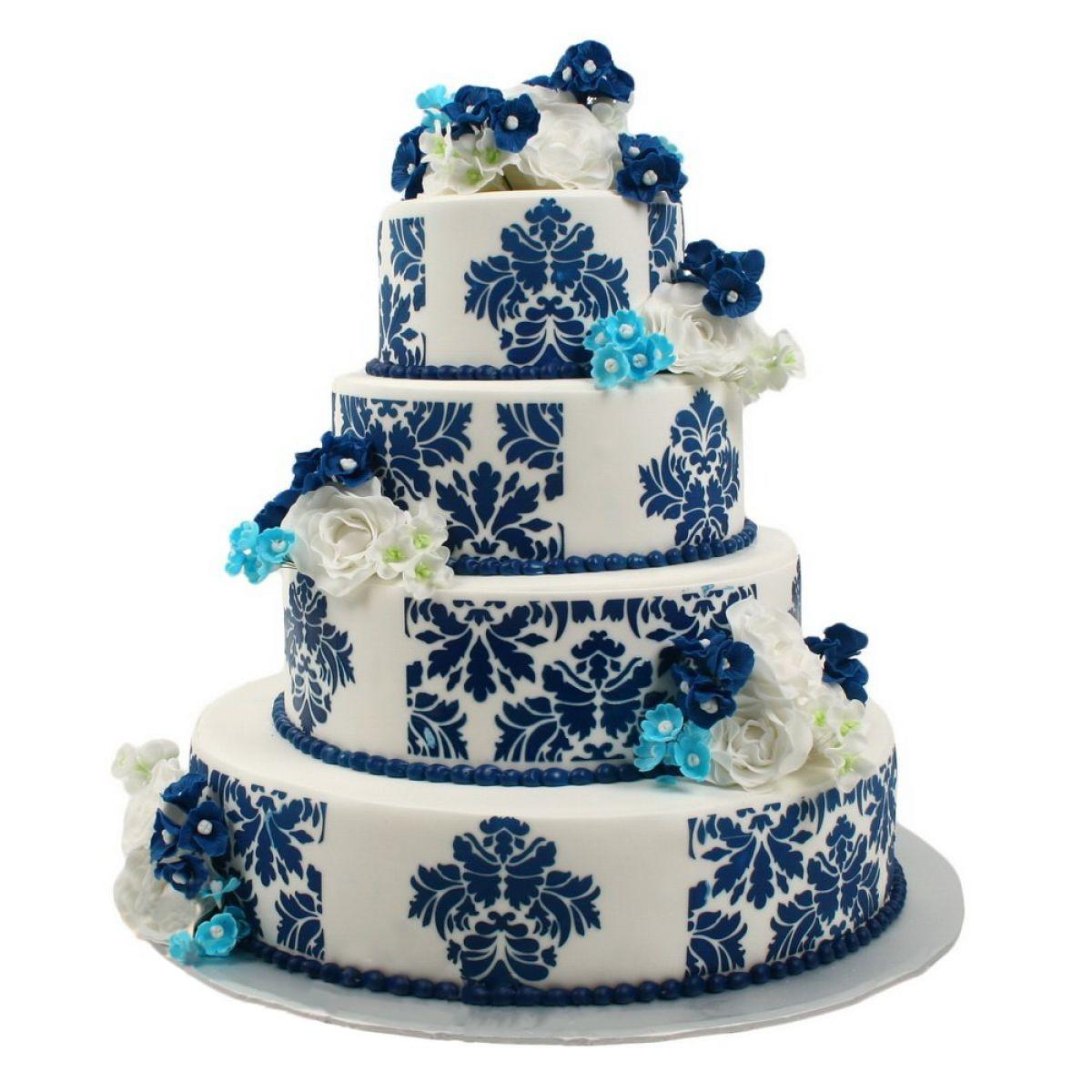 №705 Торт кружево