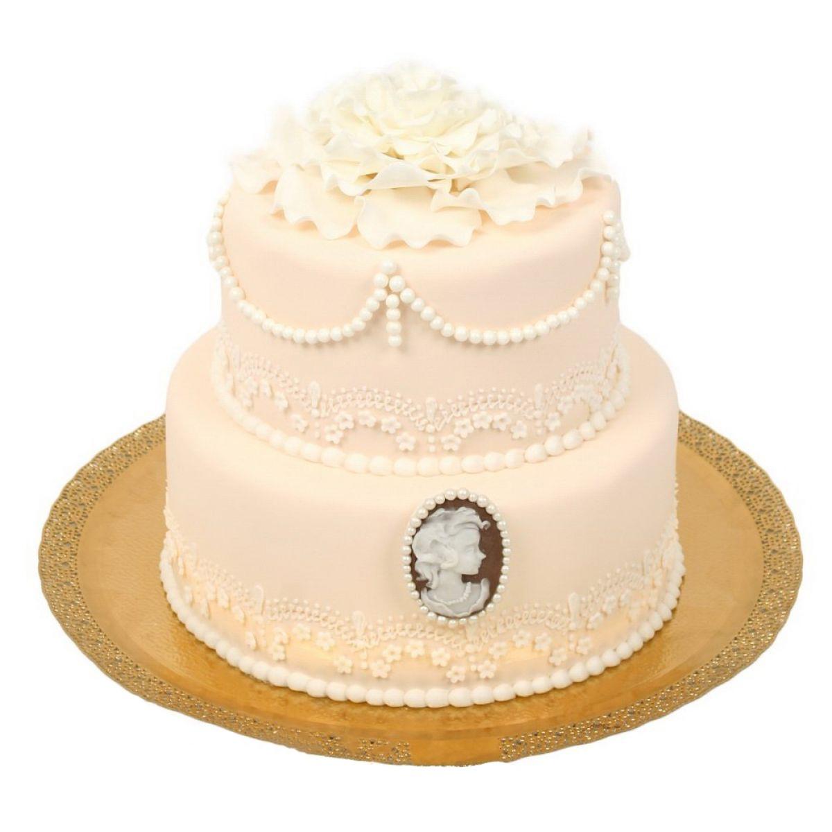 №706 Торт кружево