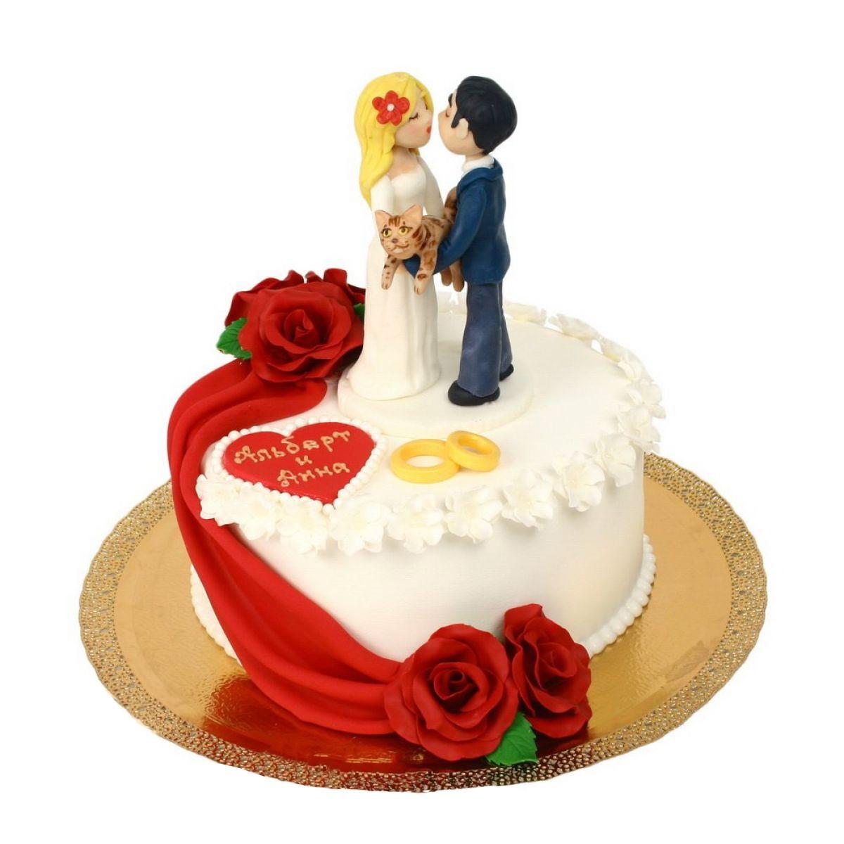 №707 Торт влюбленные