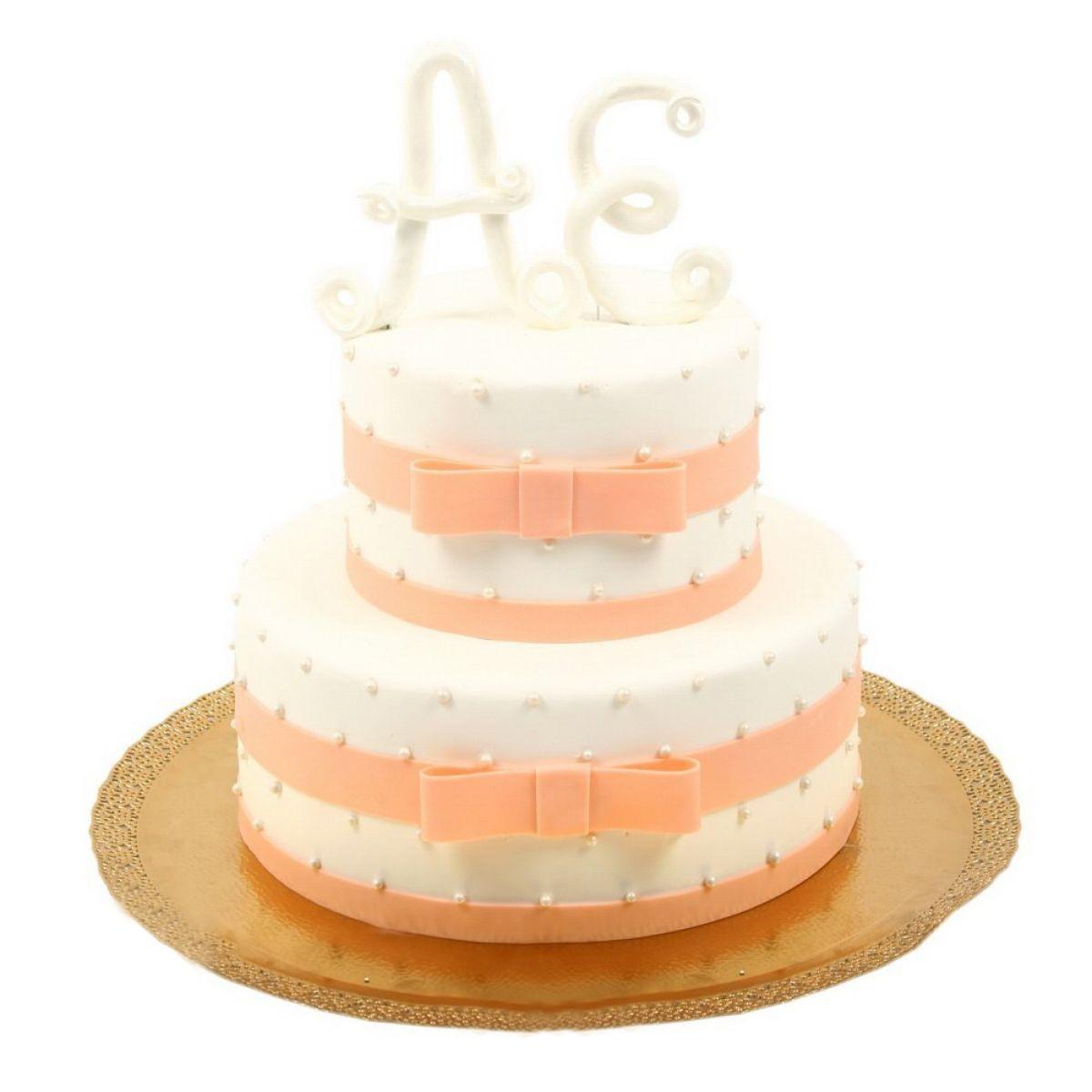 №710 Торт инициалы