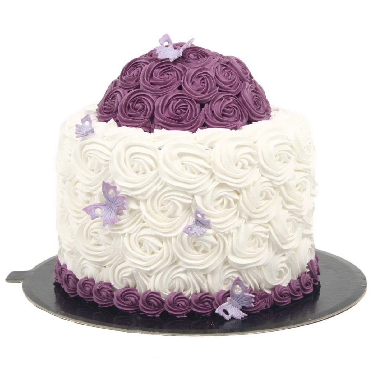 №712 Торт пионы