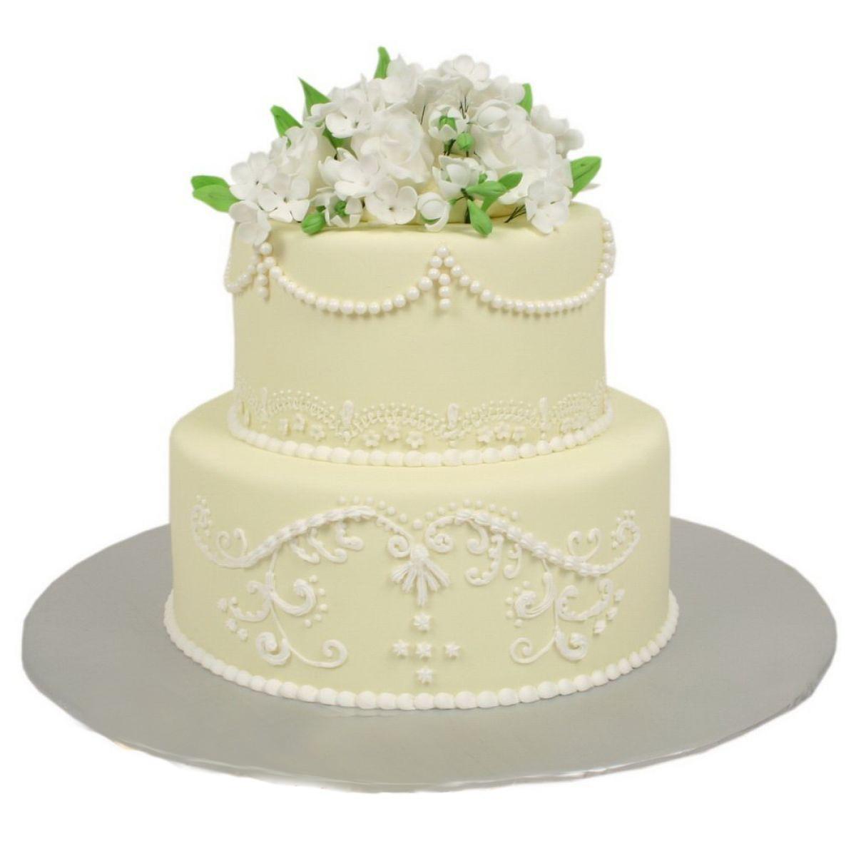 №722 Торт кружево