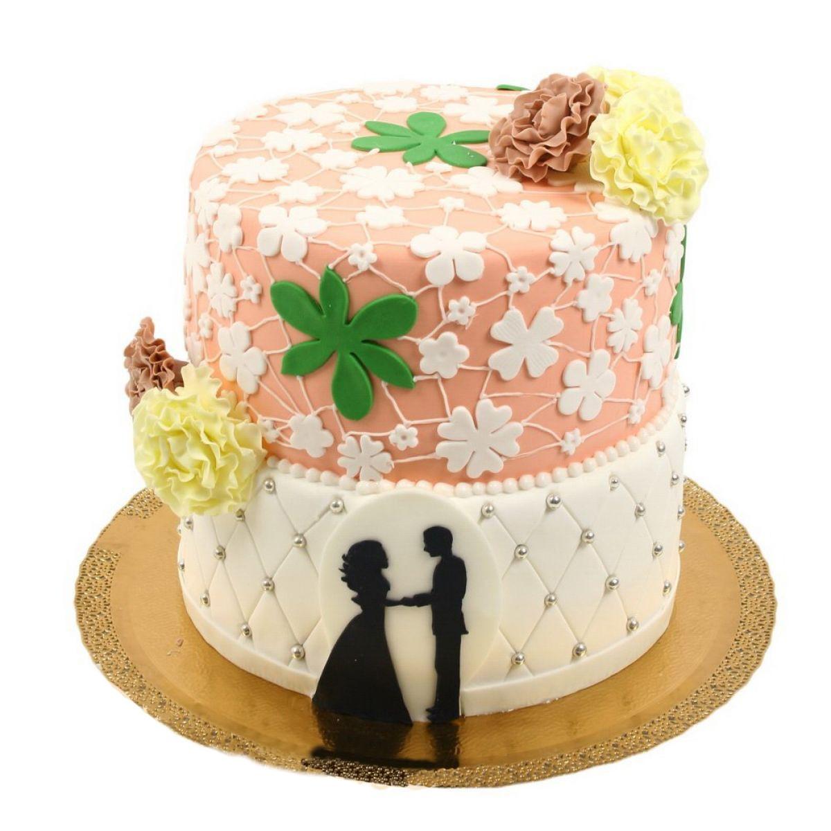 №723 Торт молодожены