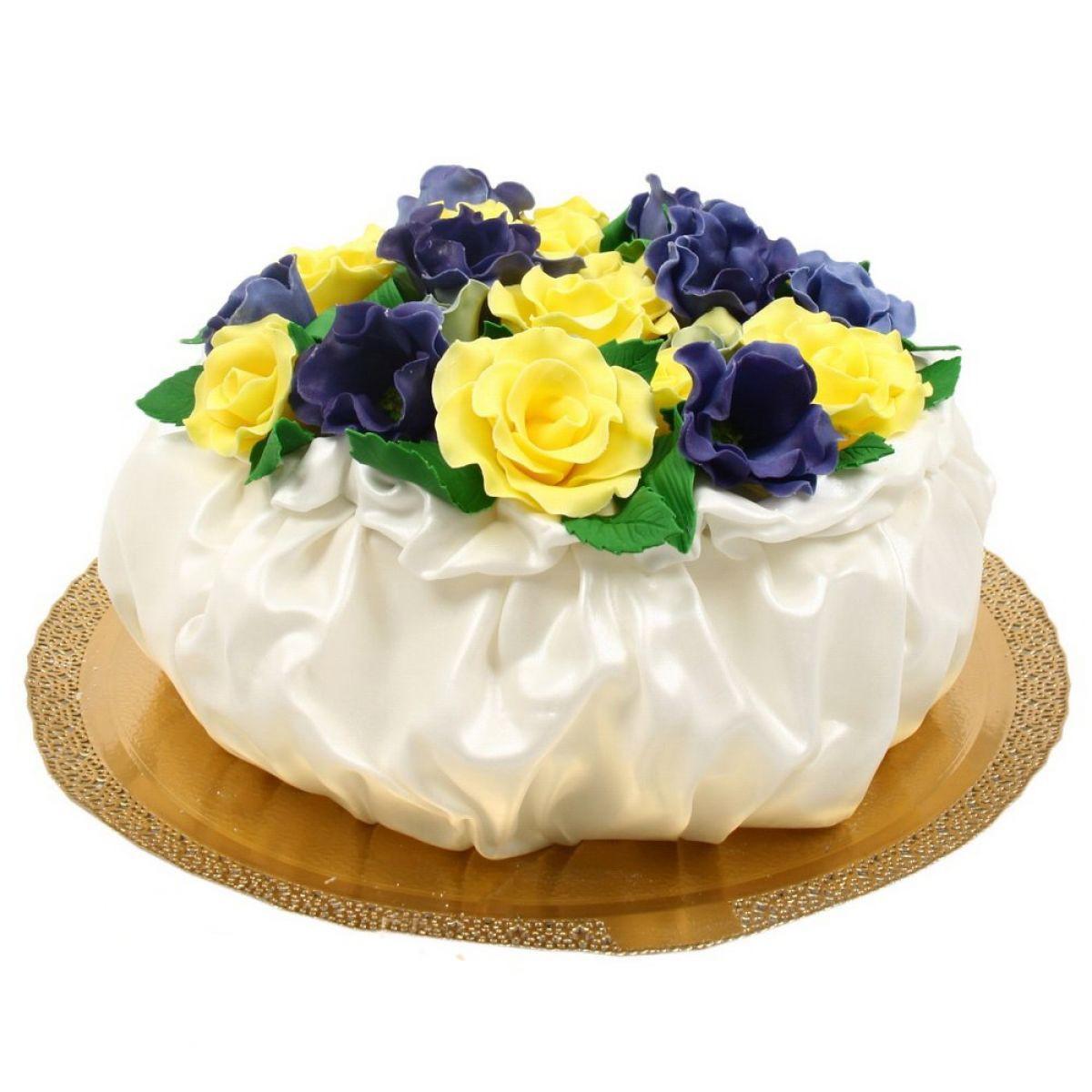 №725 Торт пионы