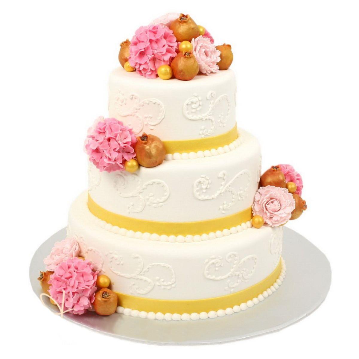№729 Торт розы