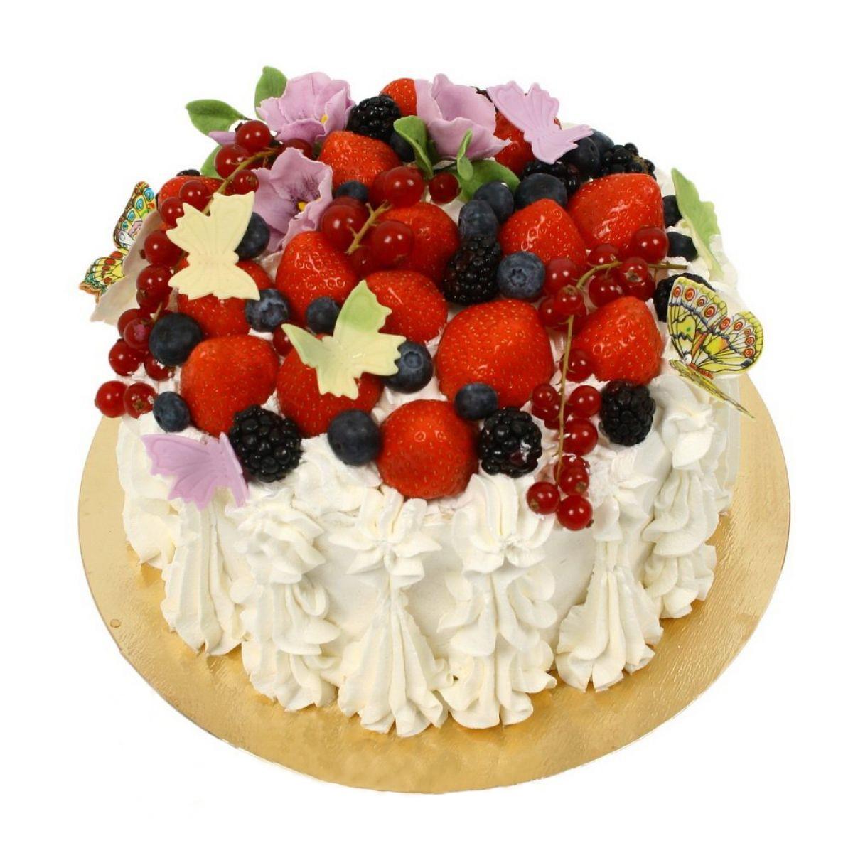 №735 Торт ягоды