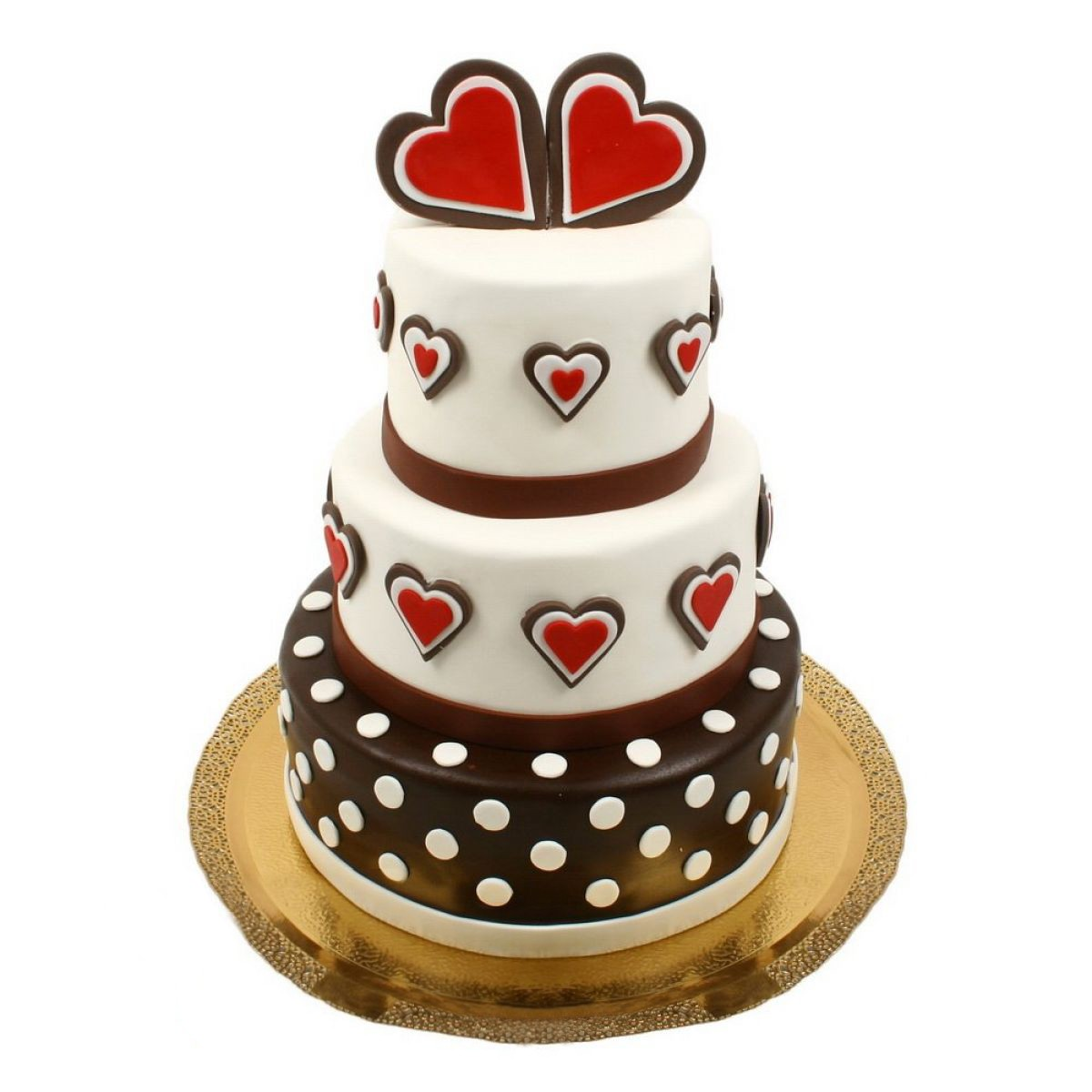 №736 Торт сердца